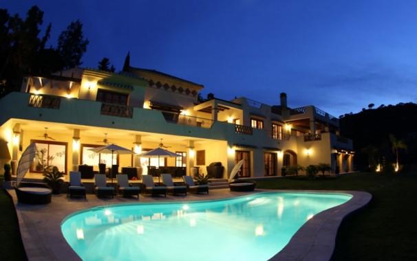 Luxury holiday rental villa on the Costa del Sol